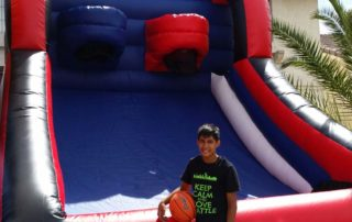 basketball bounce house las vegas