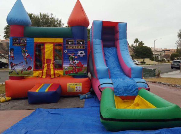 sports bounce houses las vegas
