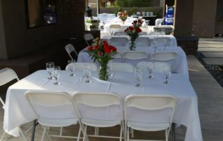 table and chair rentals las vegas